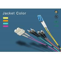 China SC fiber patch cord 100% insertion loss less  wholesale