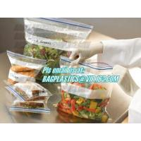 China Grip Seal Bags, Zip Lock Bags, Slider, Resealable, Reusable wholesale