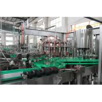 China PLC Control Electric Driven Glass Bottle Filling Machine With Highly Speed wholesale