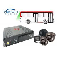 4CH 720p sd card mdvr gps 3g wifi Mobile DVR / MDVR for school bus with AHD Analog Camera Manufactures