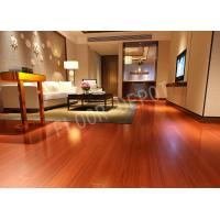 China Maple Color Eir 8mm HDF Living Room Laminate Flooring , Commercial Laminate Flooring Carb2 Waxed wholesale