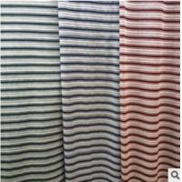 China UPSCALE MEN CLOTHING JACQUARD FABRIC YARN-DYED JACQUARD STRIPE POLO SHIRT FABRIC wholesale