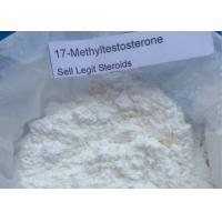 Factory Price Muscle Growth Raw Powder 17-Methyltestosterone Steroids CAS58-18-4