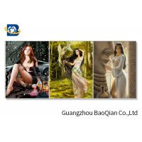 China 3d Flipped Picture Sexy Young Beautiful Girl Pictures In Stock For Indoor Wall wholesale