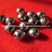 China Tungsten ball with hole sinker beads on sale