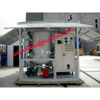 China Transformer Oil Purifier,Insulation Oil Regeneration System,Waste Oil Refinery with Germany Leybold Vacuum wholesale