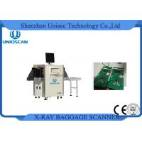 Dual Energy Airport Baggage Scanner For Airport Metro Prison Easy Operation Manufactures