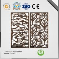 China High Performance Laser Cut Decorative Screens , Hot Rolled Laser Cut Screen Panels wholesale