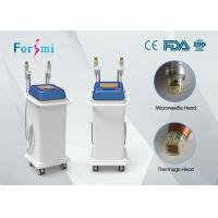China factory price 2 handles thermage superfacial SRF and MRF fractional rf microneedle machine for acne scarring treating wholesale