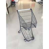 China 40 Liter Steel Tube Grocery Store Shopping Cart For Airport Supermarket wholesale