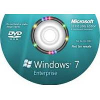 Quality Global Useful Windows Seven Enterprise W / SP1 For PC Genuine Software for sale