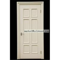 China Solid wood composite door wholesale