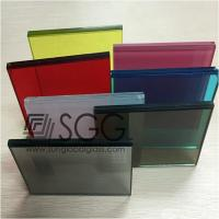 China 1.52mm PVB Laminated Glass Clear Bronze Euro Gray F Green Ford Blue Dark Gray Dark Green D wholesale