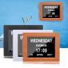 China Digital Clock Invitation Lcd Video Greeting Card 5 Alarm Options 1024*768 Resolution wholesale