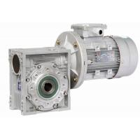 China Double Shaft Mounted Nmrv Worm Gear Reducer , Pre-Stage Reduction Gear Unit wholesale