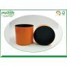 China Round Cylinder Cardboard Tube Boxes Pantone Printing 100% Eco Kraft For Cosmetics wholesale
