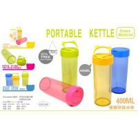 China PORTABLE DRINKING CUPS - 4 ASSORTED TRANSPARENT COLORS wholesale