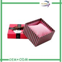 China Fancy Matte Red Cardboard Match Packaging Box With Screen Printing wholesale