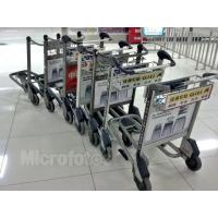 China Light Duty Automatic Brake Airport Luggage Trolley 30 Litre 520x225x150mm wholesale