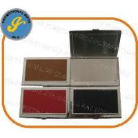 China Leather Metal Card Holder, Business Card Holder, Business Card Case on sale