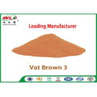 China Eco Friendly Fabric Dye C I Vat Brown 3 Brown RN Dyeing Of Cotton Fabric wholesale