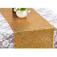 China Elegant Fabric Table Runner , Wide Table Runners Extra Large Disposable Oilproof wholesale