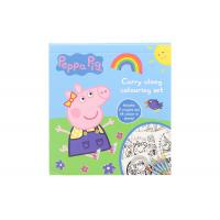 China On Demand Coloring Book Printing Relaxing Stress Relieving Peppa Pig wholesale