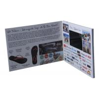 "Quality 2.4''/2.8''/4.3'/5""/7'/10'' TFT LCD Video Brochure with multi-pages for sale"