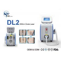 China 10 Bars 808nm Diode Laser Hair Removal Machine High Power Laser Epilator 12 * 12mm Spot with Germany imported on sale