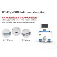 China Portable Opt Elight Rf Laser Machine Humanized Bending Design Better Cooling wholesale
