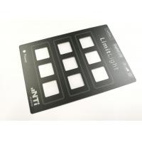 China Waterproof Transparent Window Polyester Graphics And Overlays For Control Panel wholesale