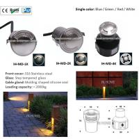 High Quality 316 Stainless Steel 3W Waterproof LED Four Face Emitting LED Underground Lights Manufactures