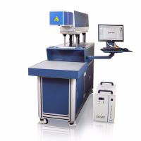 China CO2 Galvo Laser Marking And Engraving Machine , Hide Diode Laser Marking Machine on sale