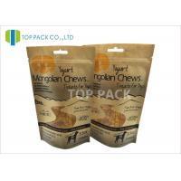 Buy cheap Snack Food Paper 3.5oz Stand Up Zipper Packaging Waterproof Free Shape Window from wholesalers