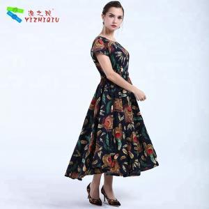 China YIZHIQIU black bohemian women dresses wholesale wholesale