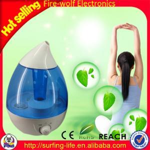 China Room Humidifier water shape aroma diffuser air diffuser usb humidifier Mini Automatic Room Humidifier Supplier wholesale