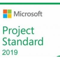 China Microsoft Project 2019 Standard Retail Version 1 License For 1 Pc wholesale