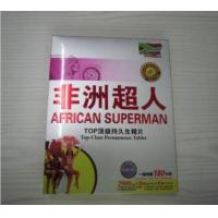 China African Superman Hot Selling Permanence Male Enhancement Pill Working 180 Hours Sex Enhancer for Men