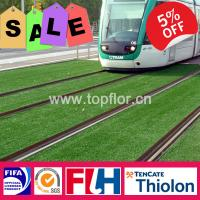 China 10mm/25mm/35mm/50mm artificial grass for football landscaping playground on sale
