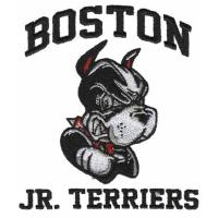 China Embroiery Design digitizing Boston Jr. Terriers WFO11B07 on sale
