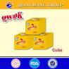 China Qwok 4g*25*80 halal chicken taste bouillon cube stock cube wholesale