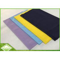 China 50gsm TNT Non Woven Tablecloth 1.2m x 1.2m , Colorful PP Spunbond Nonwoven Fabric wholesale
