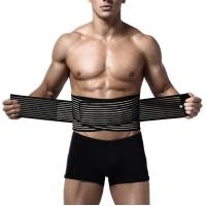 China Adjustable Waist Trimmer Belt ,Waist Slimmer For Men & Women / Stomach Body Wrap on sale
