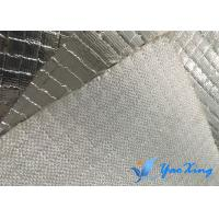 China Insulation Waterproof Fiberglass Aluminum Foil Twill Waven 248℉ Standing Temperature wholesale