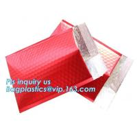 China Factory customized waterproof poly mailers bubble padded envelope mailing bags for present shipping, bagplastics, bageas on sale