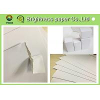 China CCWB Customized White Cardboard Paper Sheets , Paper Packaging Board For Medicine wholesale