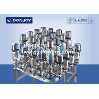 China Array Sanitary Reversing Seat Valve Typical Mixing Proof Valve 316L Material wholesale