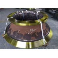 China Casting Parts Cone Crusher Mantle And Concave With Manganese Steel Material wholesale