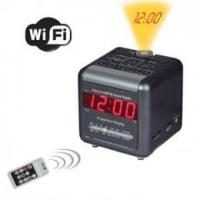 China H.264 WiFi 2 Band AM/FM Alarm Clock Radio Covert Camera on sale