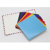 Handy Matt Gummed Paper Squares Assorted Colour For School Children Handwork